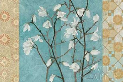 The Poster Corp Kathrine Lovell - Patterned Magnolia Branch Kunstdruck (60,96 x 91,44 cm) Patterned Magnolia Branch