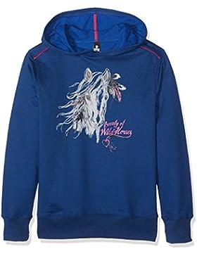 Trigema Mädchen Kapuzen-Sweatshirt Pferd