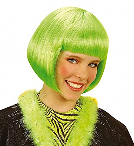 Perücke Jenny Jazz grün (Jenny Halloween-kostüm)