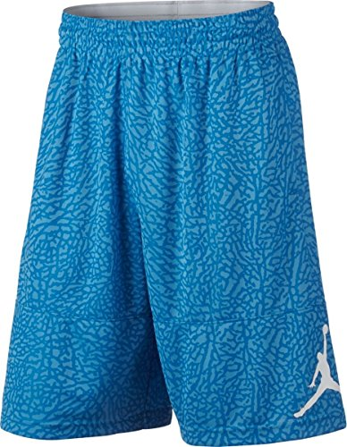 Nike-basketball-shorts-blau (Nike Ele Blockout Short Basketball, Shorts XS Blau (lt Foto blau/weiß))