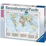 Ravensburger - Puzzle - Carte Politique du Monde - 1000 Pièces