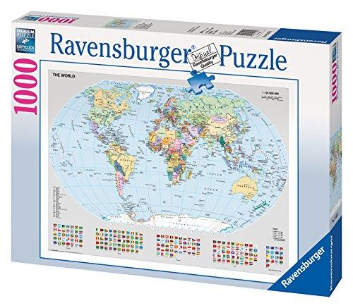 Politische Weltkarte (Karte Puzzle)