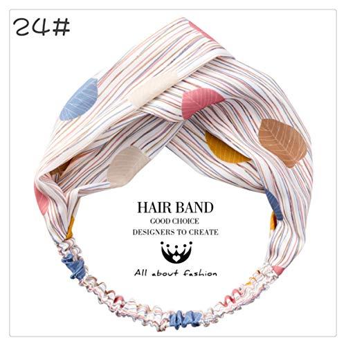 Bogen haarbänder elastische haarband mädchen druck fadenkreuz zubehör haarschleife haargummis pferdeschwanz halter schöne kopfbedeckungen für damen