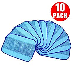 10pcs Wet Microfiber Mopping Cloth LinkStyle Replaceable Mop Pad for iRobot Braava Vacuum Cleaner