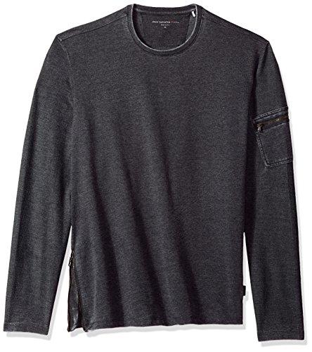 John Varvatos Star USA Men's Long Sleeve Crewneck Sweatshirt