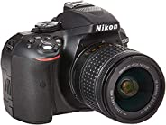 Nikon D5300 24.2MP Digital SLR Camera(Black) with AF-P 18-55 and AF-P DX NIKKOR 70-300mm f/4.5-6.3G VR Kit, Fr