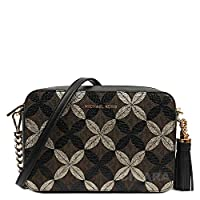 MICHAEL Michael Kors Signature Floral Metallic Camera Bag
