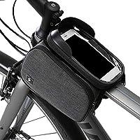 حقيبة الدراجة للدراجات النارية بإطار أمامي من ديكديل تصلح كجراب للهواتف الذكية بشاشة لمس مقاس 6 إنش