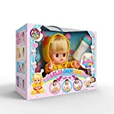 Baobe Bambola Interattiva,Bambola Molle del Bambino di Simulazione, Toy Girl Gioca House, Doll Set con Accessori 4 Pezzi con Musica Regalo per Bambini Baby Bee(Giallo)