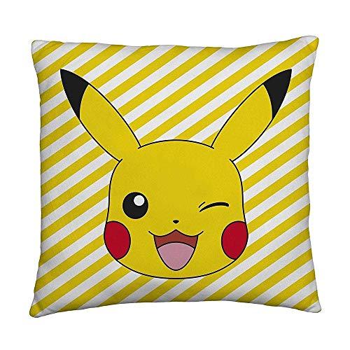 Kostüm Pikachu Pokemon Videospiel - Pokemon - Kissen - Pikachu - 40 x 40 cm