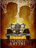 Poster 60 x 80 cm: The Great Gatsby von Albert Cagnef - Hochwertiger Kunstdruck, Kunstposter