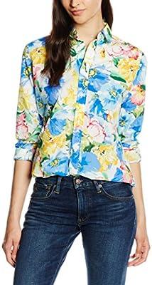 Polo Ralph Lauren Ls Relaxed Stella Shirt, Blusa para Mujer