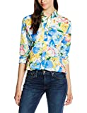 Polo Ralph Lauren LS Relaxed Stella Shirt, Blusa para Mujer, Mehrfarbig (Blue Floral W White...