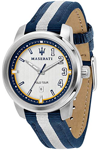 Maserati Royale Mens Analogue Quartz Watch with Nylon Bracelet R8851137005