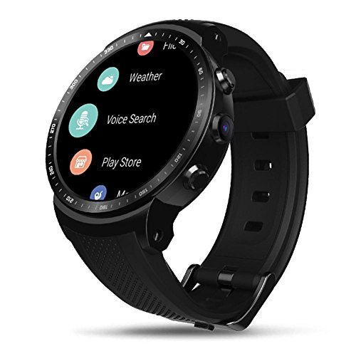Zeblaze Thor PRO 3G Smart Watch,1.53inch Touch Display,1GB RAM+16GB ROM, GPS WiFi Camera Heart Rate Monitor, Compatible with iOS and Android.