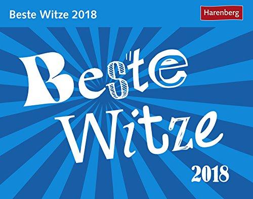 alender 2018 - Harenberg-Verlag - Tagesabreisskalender - 14 cm x 11 cm (Beste Witz-buch)