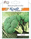 #9: Broccoli Calabrese (1000 Seeds) Seeds for Sprouting by Kraft Seeds