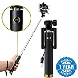 #3: Selfie Stick With Wire/AUX Cable (No Bluetooth Or Battery) For All Smartphones