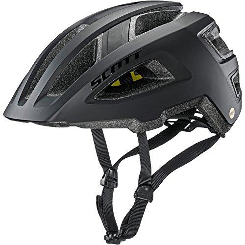 Scott Groove Plus Fahrrad Helm schwarz 2018: Größe: M/L