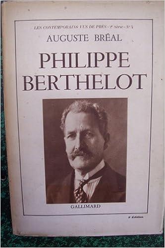 Téléchargez l\'ebook pdf gratuit Philippe berthelot. PDF PDB