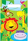 20 Boys Girls Kids Childrens Birthday Party Loot Gift bag Jungle Theme Zoo