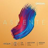 D 'Addario tensión media ascenté violín string
