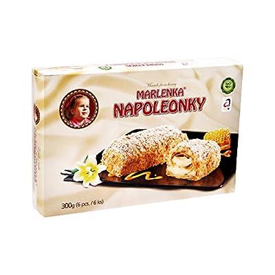 """Kleingebäck aus Blätterteig mit Cremefüllung """"Marlenka Napoleonki"""""""