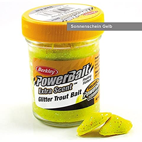 Berkley Powerbait Select Glitter Trout Bait Sunshine Yellow