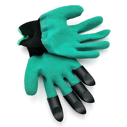 Ouken Gartenarbeit und Arbeitshandschuhe Garten Graben Genie Handschuhe mit Krallen Protektoren Gartenwerkzeug 1PC (Handschuh Mit Krallen)