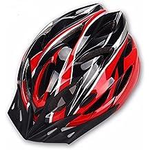 Hoovo Casco de Bicicleta con Ajustable Ligero Casco de Bicicleta de Montaña Racing breezier para Hombres