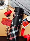 #7: Style Homez Double Wall Vacuum Flask Insulated Thermos BPA Free Stainless Steel Travel Water Bottle Sipper 480 ml - Keep Drinks Hot and Cold for 12 Hours (BRAVE)