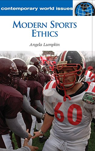 Modern Sports Ethics: A Reference Handbook (Contemporary World Issues) por Angela Lumpkin