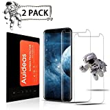 [2Pack]Samsung Galaxy S8 Screen Protector,Auideas[Tempered Glass] Screen Protector with [9H Hardness] [Crystal Clear] [E