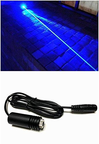 445-450nm hohe Leistung 1.6W 1600mw blaues Laserdioden-Punkt-Modul w/ 18x45mm u. 6.7-7.5V