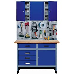 Küpper 70424-7 Atelier de bricolage Bleu marine 120 cm