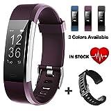 Lintelek Fitness Armband Fitness Tracker wasserdichter IP67-Schrittzähler Aktivitäts-Tracker für...