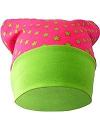 mitwachsende Baby - Kinder Kopftuch Mütze / in 4 Designs / Größen 35 - 53