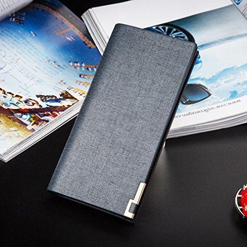 Borse Portafogli Creative Wallets Handbags Packs Portafogli Portafogli Lunga,Blu Blu