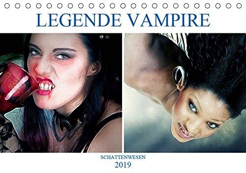 Legende Vampire (Tischkalender 2019 DIN A5 quer): Die unsterblichen Wesen (Monatskalender, 14 Seiten ) (CALVENDO Menschen)