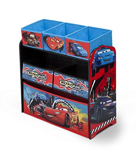 Disney Cars–juguetes de organizer-e (rojo)