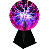 Maplin 8-Inch Interactive Red Light Plasma Ball 8W Mains Powered Night Lamp New
