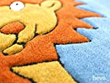Dschungel HEVO® Handtuft Teppich | Kindertepp...Vergleich