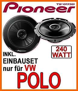 VW Polo 9N & 9N3 - Lautsprecher - Pioneer TS-G1732i - 16cm Einbauset