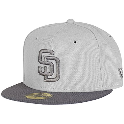 New Era 59Fifty Fitted Cap - MLB San Diego Padres - 7 1/4 (Padre Hat)