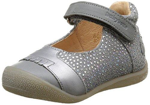 BabybotteSia - Pantofole a Stivaletto Bambina , argento (Argent (Argent)), 20 EU