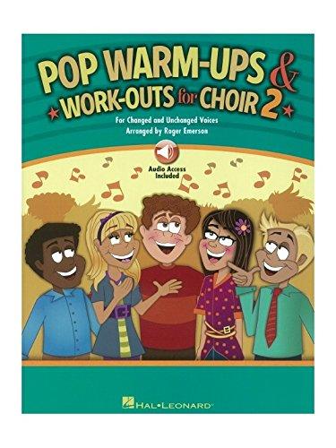 Roger Emerson: Pop warm-ups und Sport mehr für Chor-Volume 2(Book/Online Audio). Noten, Downloads für SATB, CHORAL - - Ups Emerson
