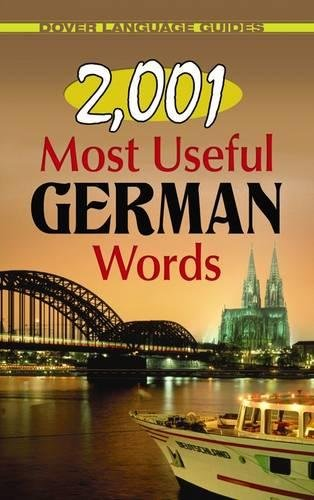 2, 001 Most Useful German Words (Dover Language Guides German)