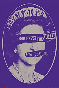 Poster Sex Pistols - God Save The Queen
