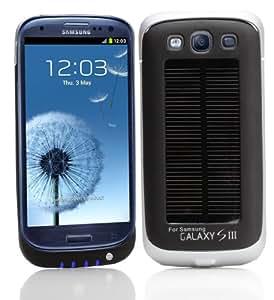 IPOWER SGS2001B Solar Case für Samsung Galaxy S III (1600mAh)