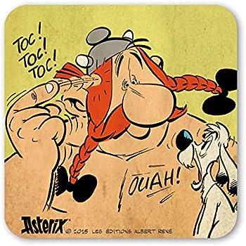 Asterix Untersetzer Idefix Faces Asterix /& Obelix Bierdeckel